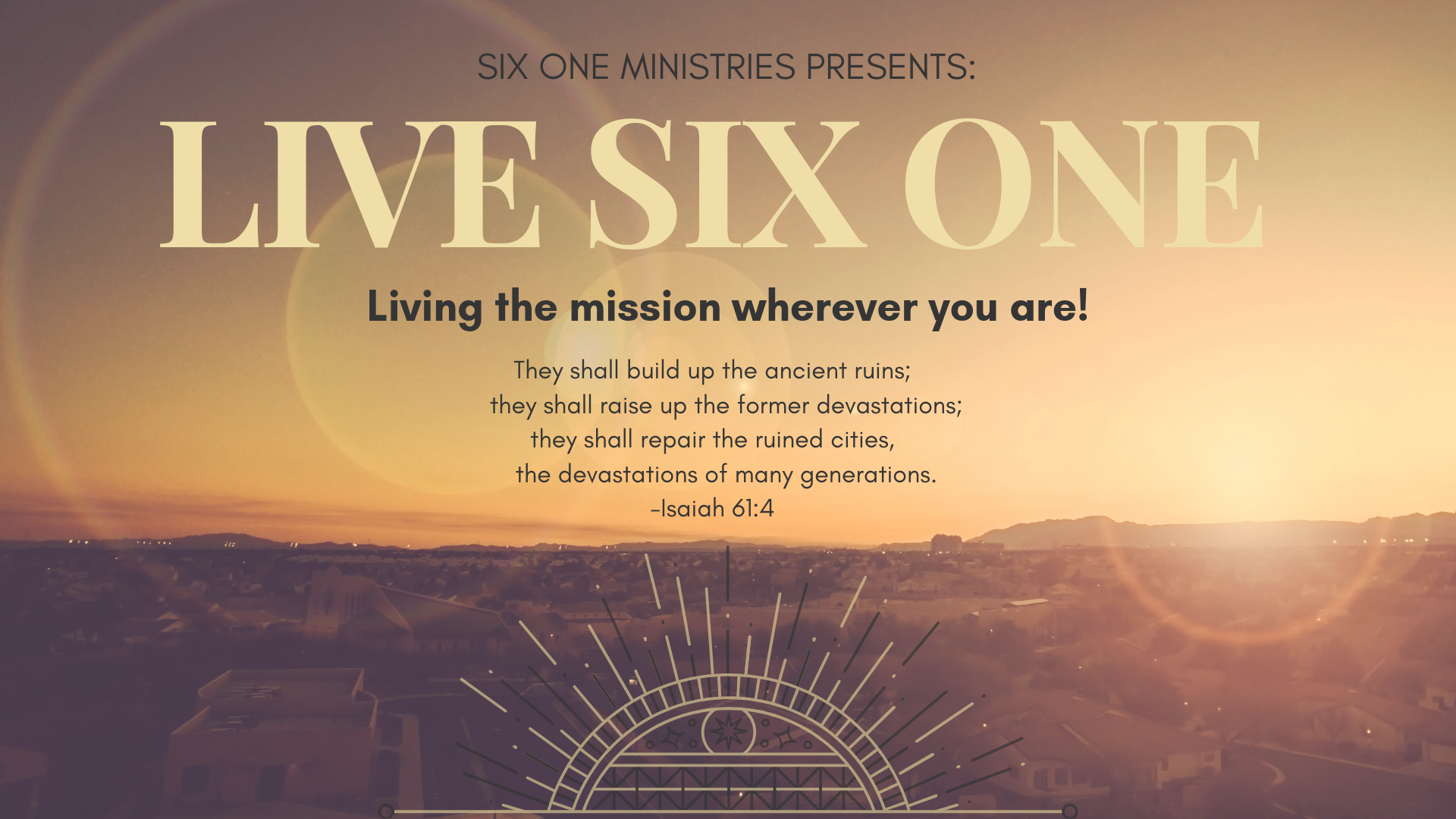Copy of Live Six One